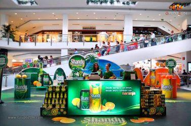 Evento Centro Comercial Vaguada Shandy Cruzcampo