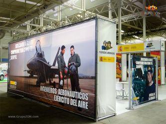 Stand Modular del Ejército del Aire España