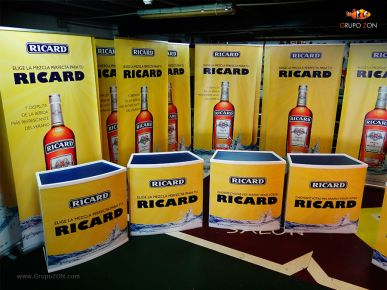 RollUps Mostradores Pernod Ricard