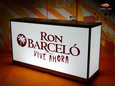 Barra Luminosa RON BARCELÓ