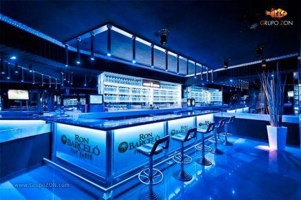 Mobiliario Bar Personalizado RON BARCELÓ