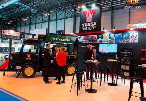Stand YUASA en Matelec 2018 con FoodTruck